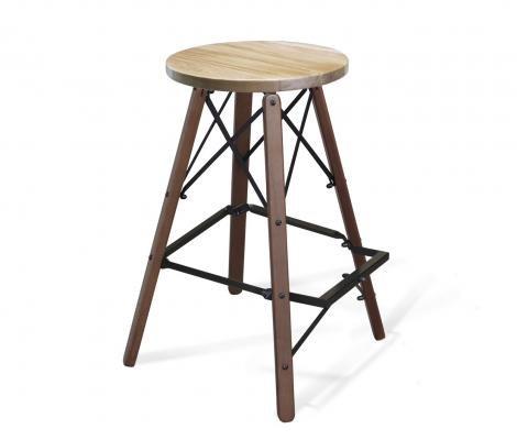 Деревянный стул барный SHT-ST16/S80