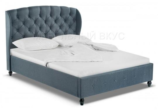 Кровать двуспальная Hadson 160х200 blue