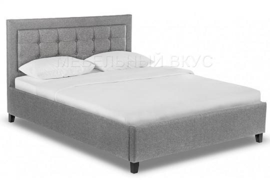 Кровать двуспальная Ameli 160х200 grey