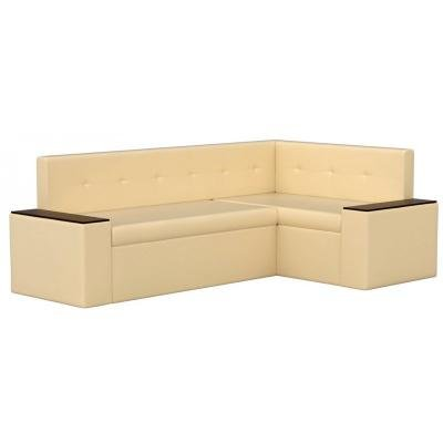 Кухонный диван Остин (Эко-кожа Бежевый)