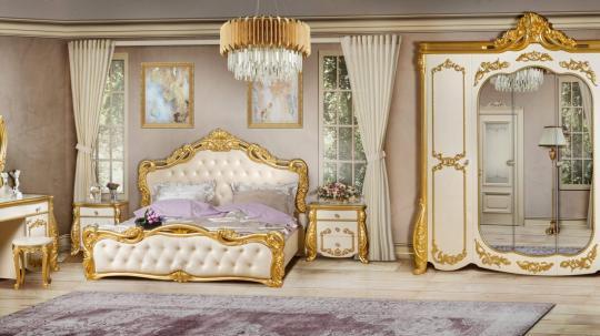 Спальная мебель «Амелия» бежевая