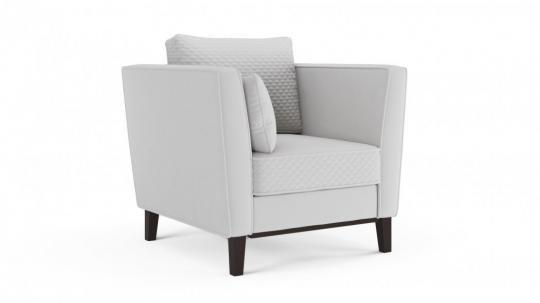 Кресло отдыха Неаполь (даймонд белый)