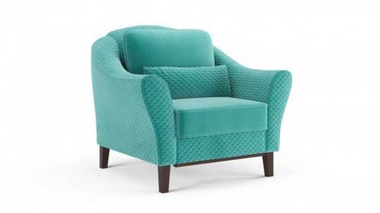 Кресло отдыха Монреаль (даймонд аквамарин)